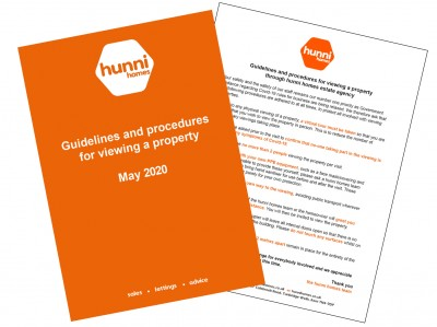 hunni homes Guidelines for Viewing a Property